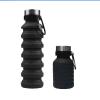 FOLDABLE WATER BOTTLE  500 ML – BLACK